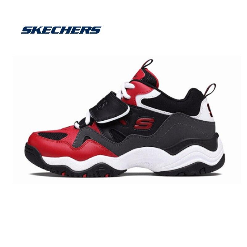 Женские кроссовки на плоской подошве Skechers, Повседневная модная спортивная обувь, Классические брендовые кроссовки на массивной подошве, 99999111 RDBK|Обувь без каблука| | АлиЭкспресс