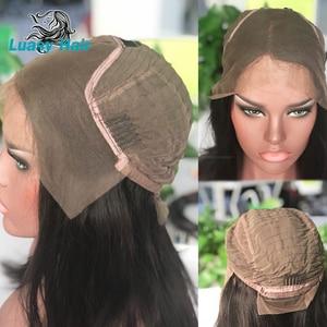 Image 4 - Luasy ברזילאי שיער Weave חבילות ישר 100% רמי הארכת שיער טבעי צבע 30 32 34 36 38 40 אינץ שיער טבעי חבילות