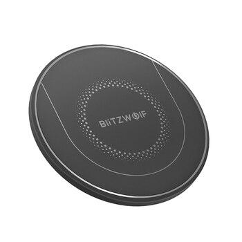 BlitzWolf BW-FWC7 Qi Быстрое беспроводное зарядное устройство 15 Вт 10 Вт 7,5 Вт 5 Вт для IPhone 11 Pro XS MAX S9 Note 9 зарядное устройство для мобильного телефона S
