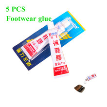 5Pcs Waterproof Strong Liquid Super Glue Repair Cloth Leather Textile Wood Fabric Instant Dry Fast Kit Accessory Adhesive LCD UV