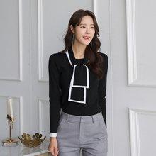 Новинка 2020 черно белый Контрастный ЦВЕТНОЙ свитер в стиле