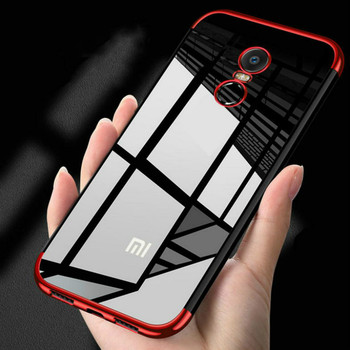 Luxury Shockproof Plating TPU Soft Cover Case For Xiaomi Redmi Note 4 4X Pro 4A 5 5A 6 6A Pro Cases For Xiaomi Mi A1 case Funda image