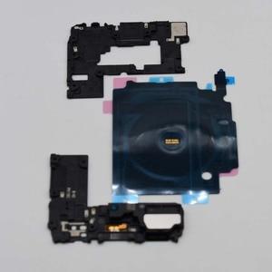 Image 4 - 3pcs/set Original For Samsung Galaxy S10 S10E S10 Plus G970 G973 G975 NFC Wireless Charging + Antenna Panel cover + loud speaker