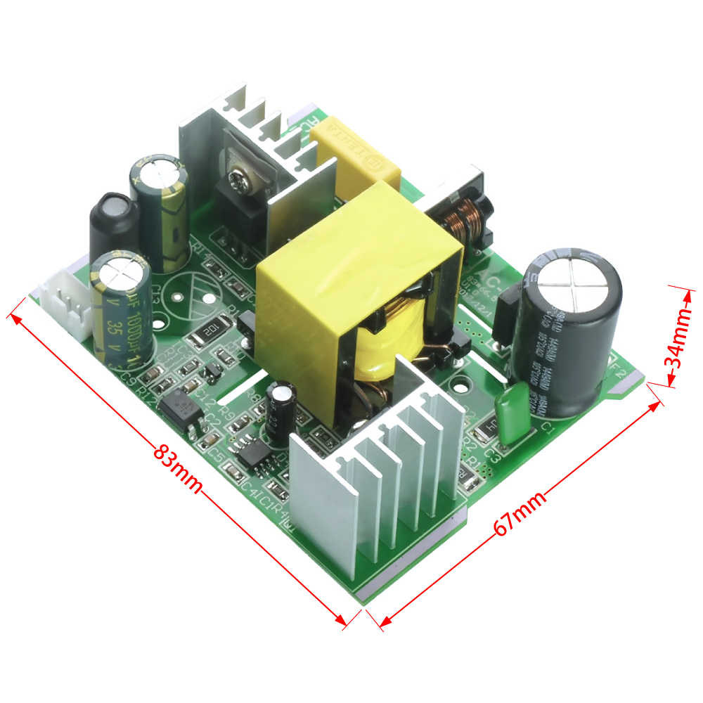 AC-DC 108W Konverter AC 110V 220V zu DC 24V 4,5 A Power Supply Board Transformator für t12 OLED LED Elektrische löten station