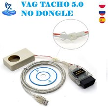 Dla VAG TACHO 5.0 interfejs USB najnowsza wersja zielona PCB FTDI FT245RL VAG TACHO USB5.0