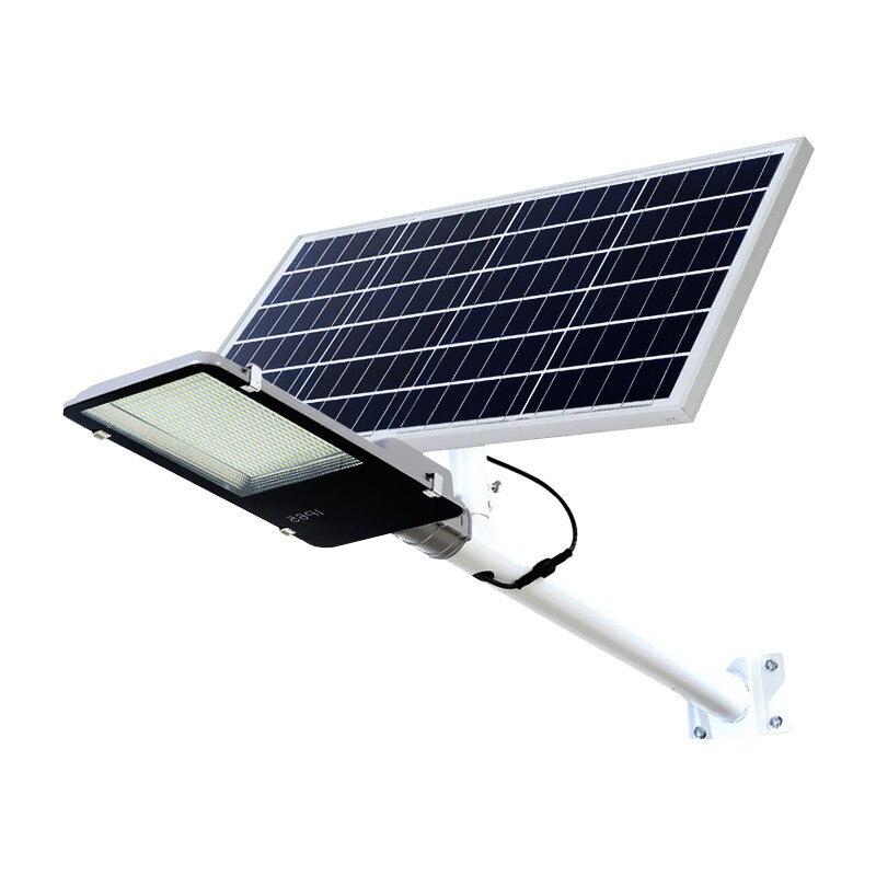 Lumière solaire extérieure nouvelle lumière de jardin rurale éclairage étanche intégré lampadaire solaire LED