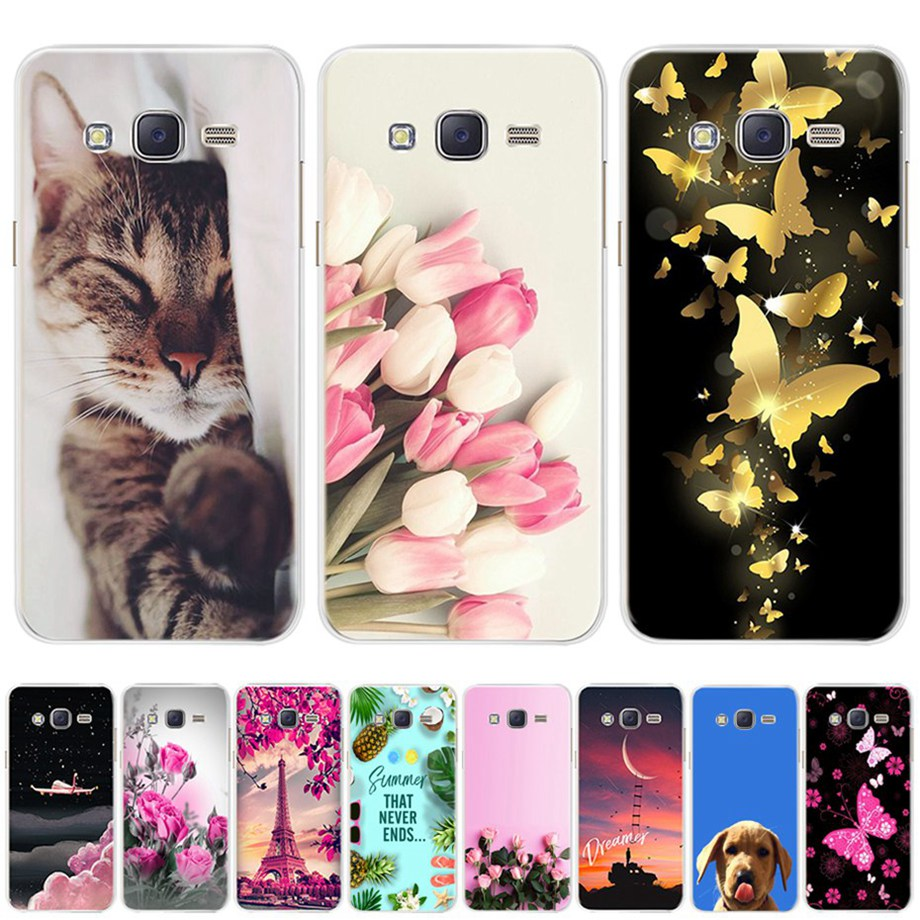 Phone-Cases Sm-J701-Case Core J701F Silicone J7 Neo Samsung Galaxy for Nxt Cover TPU