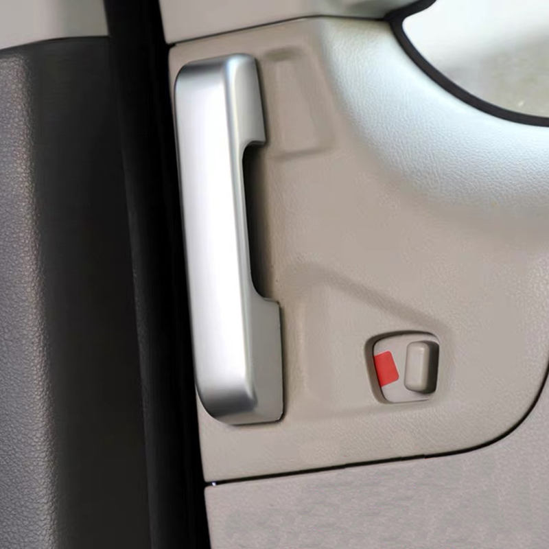 for Nissan NV200 2018 2Pcs ABS Chrome Car Door Interior Handle Bowl Protector Cover Trim Moldings Car Styling-4