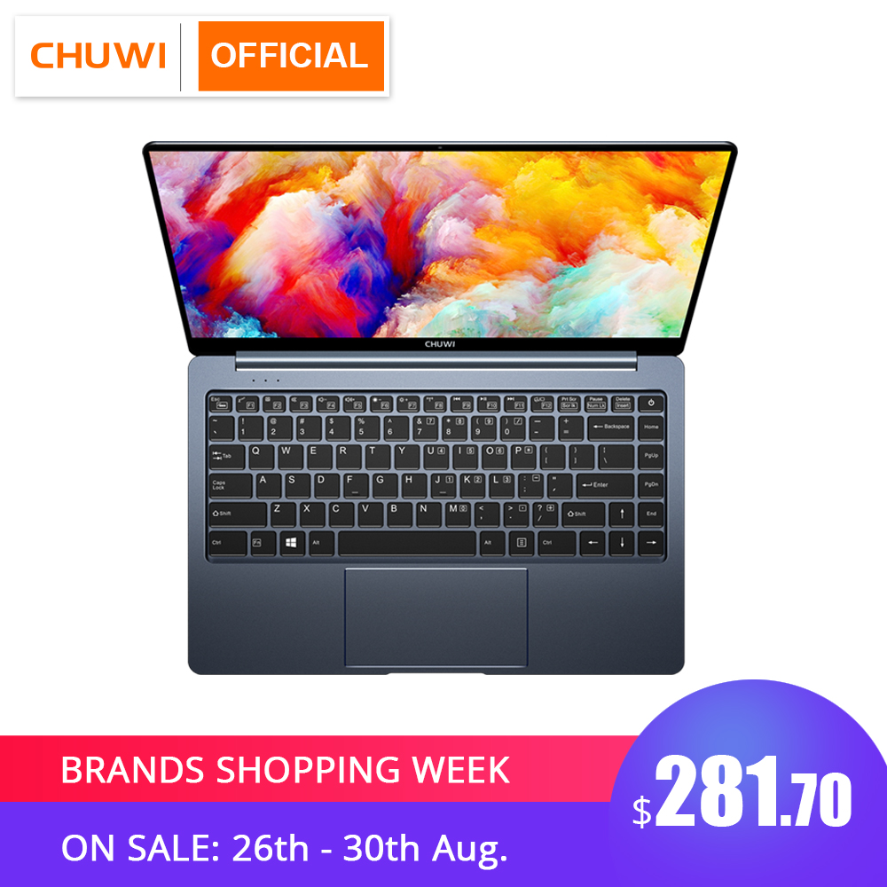 CHUWI Quad-Core Laptop Backlit-Keyboard Intel N4100 Micro Windows-10 Gemini-Lake Pro