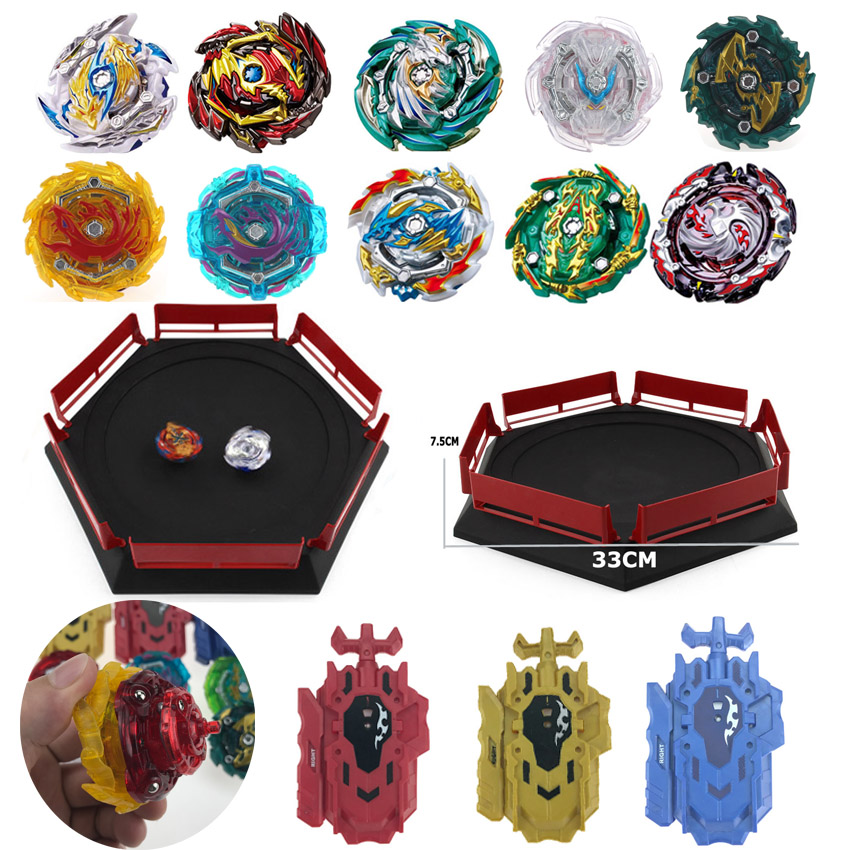 Best selling Launchers Beyblades Toys Arena Bayblades Toupie Metal Burst Avec God Spinning Top Bey Blade Toy