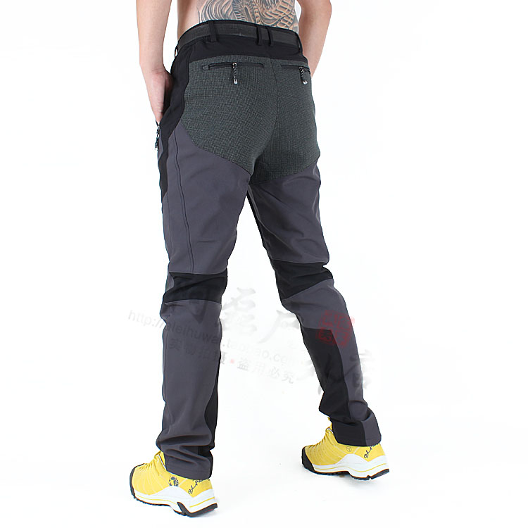 Calças Elásticas calças dos homens à prova d' água