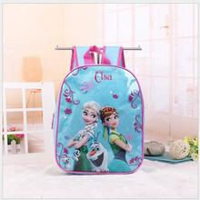 New Cartoon Backpack For Kids Elsa Anna Schoolbag Cute Girls Princess School Bag Boys Kindergarten Backpacks bag anna luchini bag