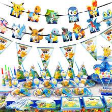 Покемон карманные монстры День рождения украшения набор игрушек
