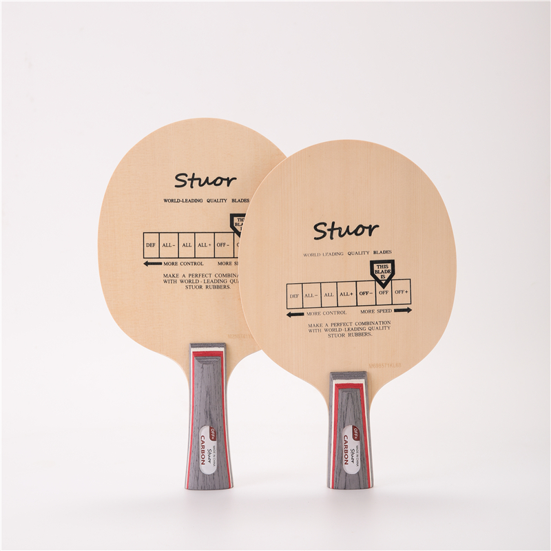 Stuor Primorac Carbon Table Tennis Blade  Hinoki Wood  Ping Pong Racket 5 Layers With Built-in Fiber Carbon