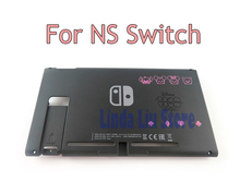 Brand new Black Replacement Back bottom faceplate for Switch case cover NS Game Console shell housing