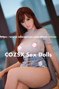 Image 1 - sex dolls real silicone 168cm love doll robot japanese anime full mini realistic adult for men sexy toys big breast vagina Anal