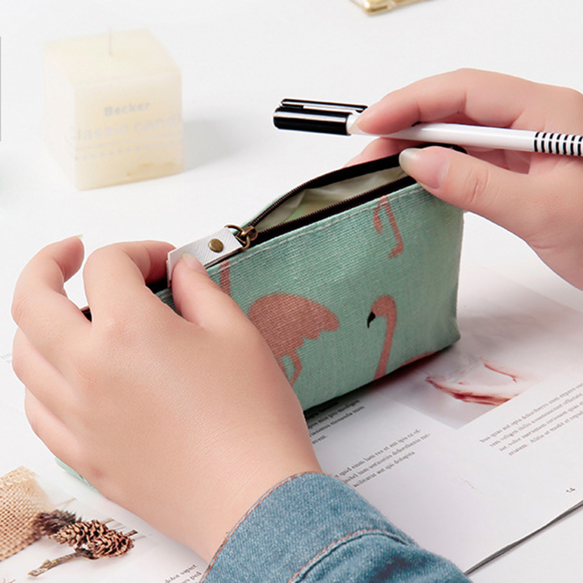 Pencil Cases Kids Stationery Simple Cute Pencil Case 3 Compartments Pencil Bags School Diary Girl Case Pencilcase For Pens Box