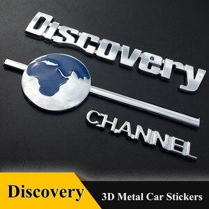 1 шт., 3D эмблема, значок, канал обнаружения, наклейки, хром, автомобильный Стайлинг для Hyundai AUDI BMW Benz volkswagen LAND ROVER KIA