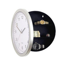 Nowy zegar ścienny bezpieczne pudełko twórczy w stylu Vintage ukryte tajne pudełko do przechowywania dla Cash Money biżuteria biuro w domu bezpieczeństwa zegar w stylu sejf