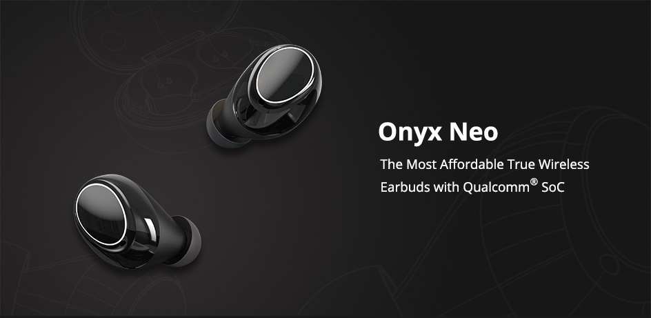 Tronsmart Onyx Neo Bluetooth 5.0 Earphone APTX True Wireless Stereo Earbuds with Qualcomm Chip Volume Control 24H Playtime (1)