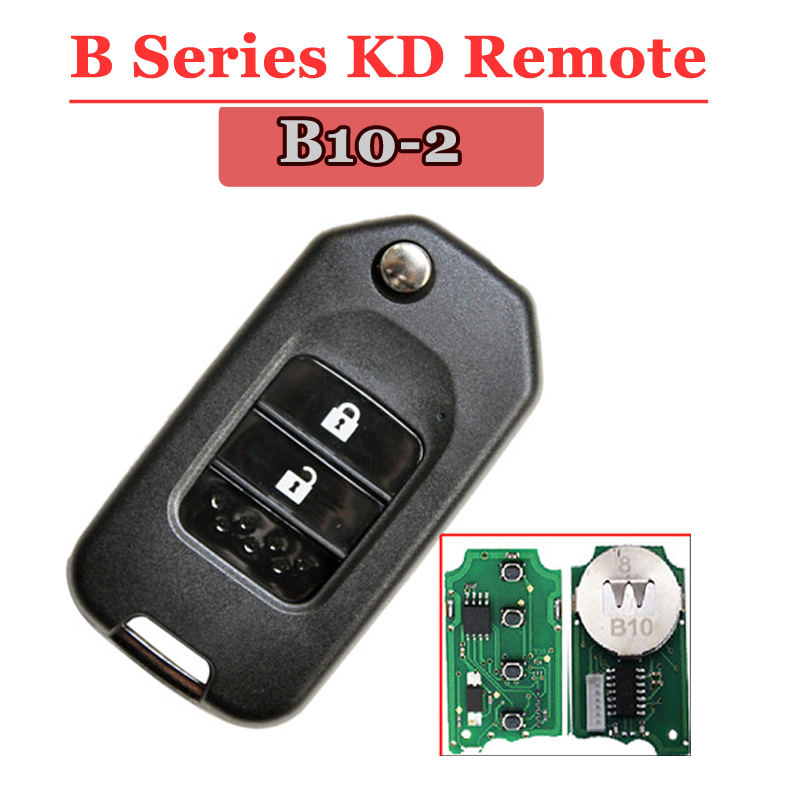 Free shipping (1 piece)B10-01 kd remote 2 Button B series Key for kd900 urg200 remote master