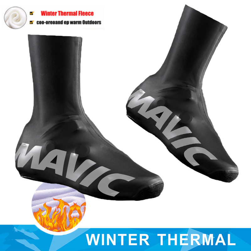 New 2020 MAVIC Thermal Winter Cycling Sports Shoe Cover Man MTB Bicycle Shoes Covers Overshoes Bicycle Covers Cycling For Men