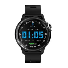 L8 1.2 inch 52832 Metal IP68 Waterproof Full Touch Smart Watch