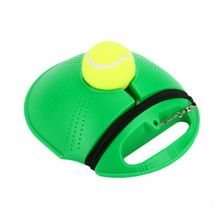 Один тренер по теннису (метание товарами) устройство основания резиновый мяч один теннис тренер обучение практика отскок мяч