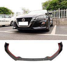 For Nissan Altima Front Bumper Diffuser Protector For 2019 New TEANA Teana Body kit bumper rear shovel lip rear spoiler sport jdm sport style front bumper lip spoiler urethane for 95 96 mitsubishi eclipse