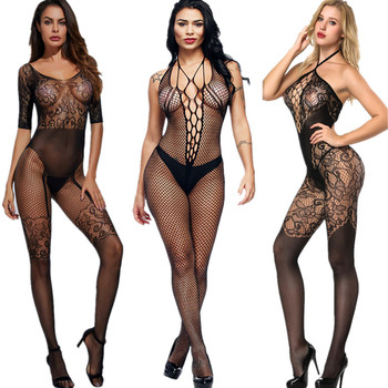 women sexy stockings full romper for women intimates slips sexy underwear sex lingeri medias de mujere jumpsuit body stocking image