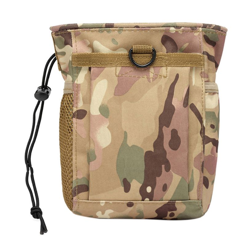 Outdoor Hunting Rifle Molle Military Tactical Gun Magazine Dump Drop Reloader Pouch Bag Utility Pouch Backpack