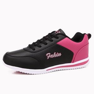 Image 2 - Zapatos informales de plataforma para mujer, zapatillas de estilo coreano, planas, para primavera y verano, 2020, gran oferta