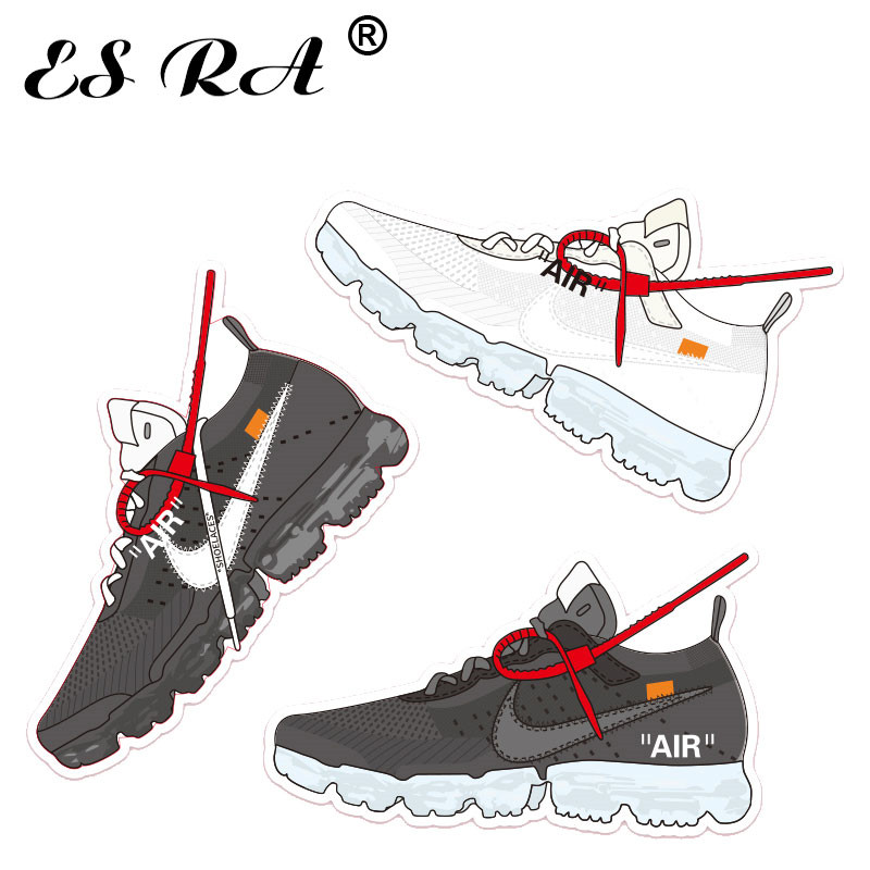 New Cool Sneaker Stickers  Boys Shoes Stickers Decorate For Suitcase Bottle Lugguage Laptop Notebook Decarate  Pegatinas