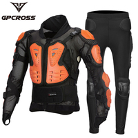Gpcross Motorcycle Reflective Armor Jackets & Pants Motorbike Full Body Armour Protective Gear Moto Racing Clothing Jackets