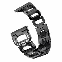 Suitable for Samsung watch D strap suitable for galaxy watch 46mm zinc metal replacement steel strip