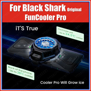 Stock BR20 Original Xiaomi Black Shark 3 Pro 2 Pro Fun Cooler liquid Cooling Fan Mi 10 Pro ROG Phone 2 iqoo neo Pro 3 Red Magic(China)