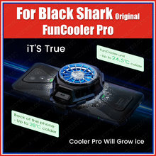 Estoque funcooler 2 pro original tubarão preto 4 pro 3s 3 pro 2 pro diversão cooler líquido ventilador de refrigeração rog telefone 5 3 2 magia vermelha 6 5g