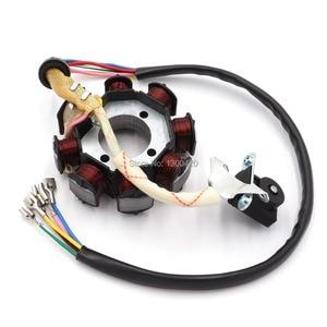Image 5 - 8 Pole Coil AC Ignition Magneto Stator for CG125 8 150cc 250cc Motocross ATV