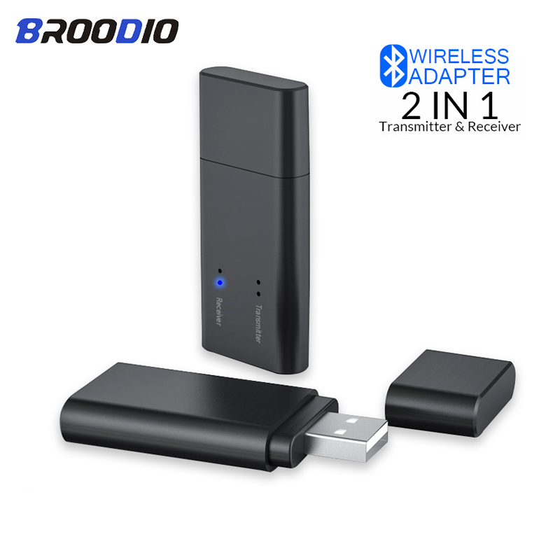 2 in 1 Bluetooth 5.0 Receiver Transmitter Wireless Bluetooth Stereo Audio Adapter Dongle 3.5mm AUX For TV Speaker Headphone Car|Wireless Adapter| |  - title=