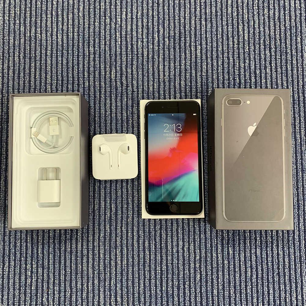Оригинальный мобильный телефон Apple iphone 8 Plus с шестиядерным процессором iOS 3 ГБ ОЗУ 64 Гб ПЗУ 5,5 дюймов 12 МП отпечаток пальца LTE