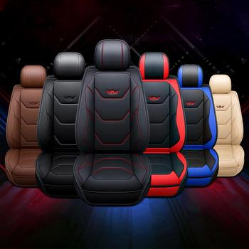 Universal Car Seat Cover for Toyota Camry Sedan Corolla Rav4 Auris Prius Yalis Avensis Kluger Hilux Seat Cushion Cover Protector flash mat universal car floor mats for toyota corolla camry rav4 auris prius yalis avensis alphard 4runner hilux highlander foot