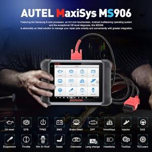 Image 2 - AUTEL MaxiSys MS906เครื่องมือวินิจฉัยอัตโนมัติOBD2เครื่องสแกนเนอร์รถยนต์Key Coding OBD 2 ECU Tester Key Programmer PK MS906BT MS906TS