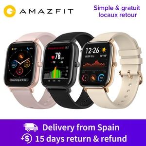 Image 1 - Huami Amazfit GTS Global Version Smart Watch 5ATM Waterproof 14 Days Battery GPS Music Control Like Apple Watch