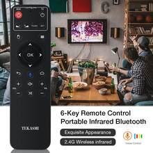Ratón volador portátil de aprendizaje infrarrojo de 6 teclas, Control remoto inalámbrico por Bluetooth de 2,4G, con 22 botones y múltiples propósitos
