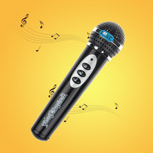 Игрушки и хобби для девочек микрофоны для мальчиков Микрофон Караоке Пение Малыш забавный подарок музыкальная игрушка рождественские подарки