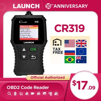 Uruchomienie X431 Creader 319 CR3001 pełna OBD2 kod obdii czytnik urządzenia do skanowania OBD 2 CR319 narzędzie diagnostyczne do samochodów PK AD310 ELM327 skaner tanie i dobre opinie LAUNCH The Newest Version Portugalski Niemiecki Włoski Hiszpański Rosyjski French Angielski Launch CReader 319 Car Scanner