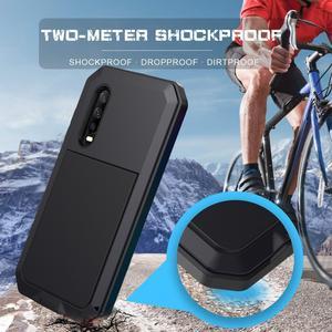 Image 4 - Funda para teléfono inteligente deportiva resistente al agua anticolisión stranger aluminio metal pesado, Estética de lujo, huawei P30 Pro mate 20 30 pro