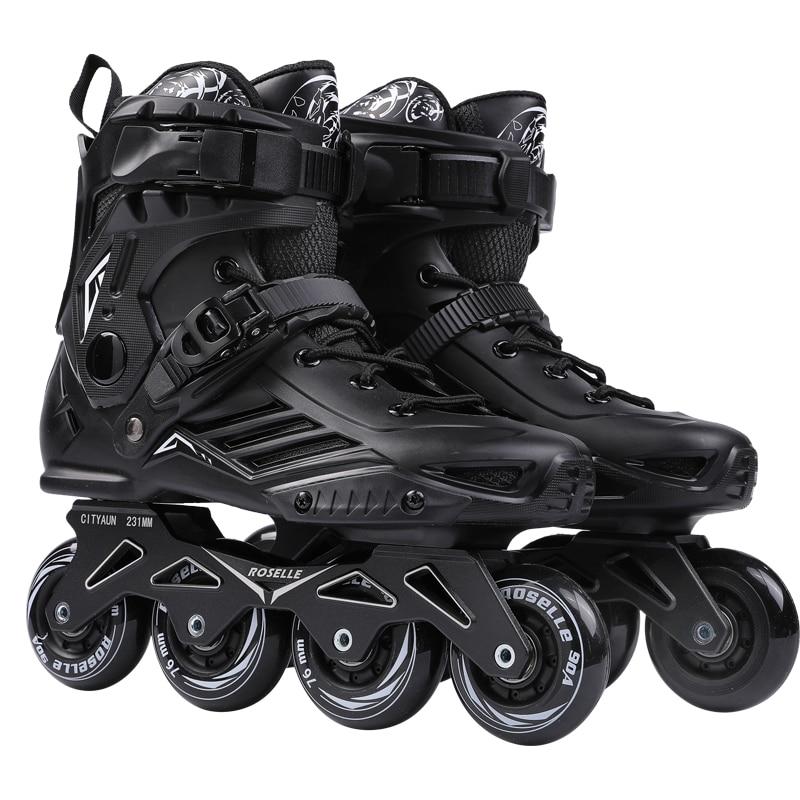 Inline speed skates schoenen hockey rolschaatsen sneakers rollers vrouwen mannen rolschaatsen voor volwassenen schaatsen inline professionele