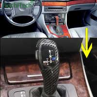 Palanca de cambio de marchas con luz LED palanca para BMW 1 3 5 6 serie E90 E60 E46 2D 4D E39 E53 E92 E87 E93 E83 X3 E89 automática Accesorios
