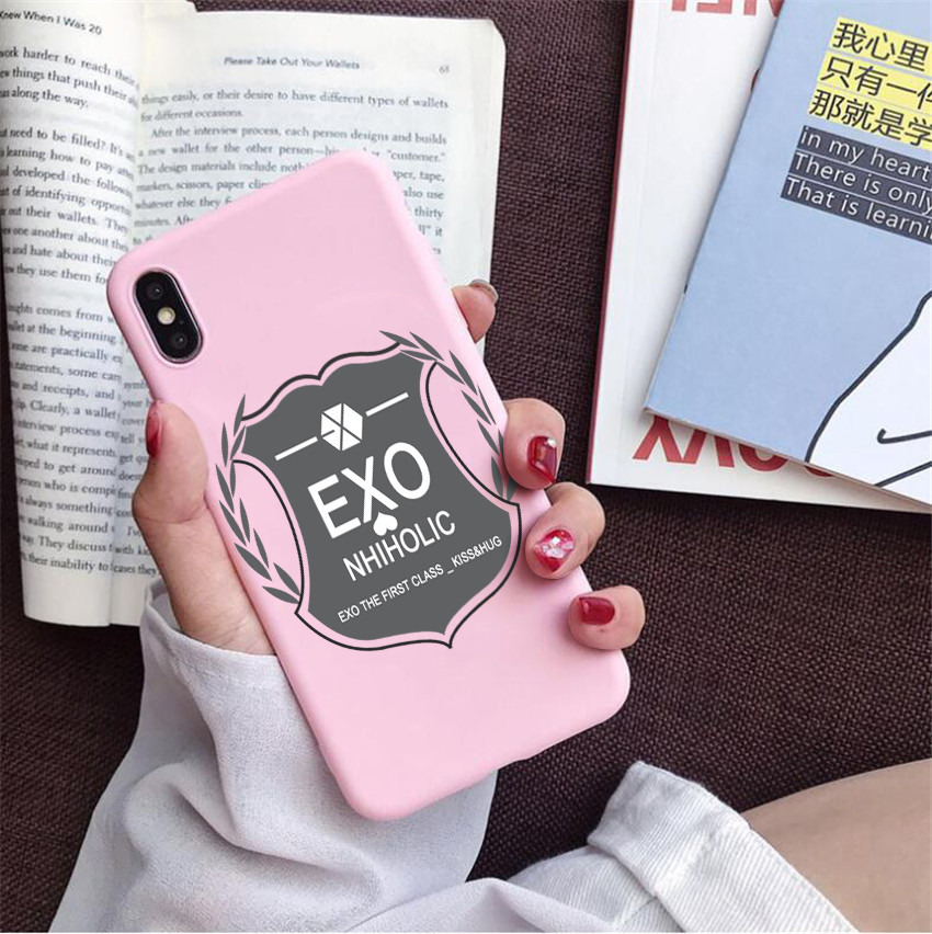Exo Themed Case Iphone 27 Varian
